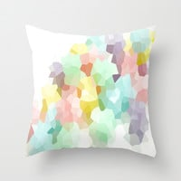 Pastel Dreams Throw Pillow by 2sweet4words Designs