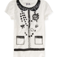 PS from Aero  Kids' Necklace Print Graphic T