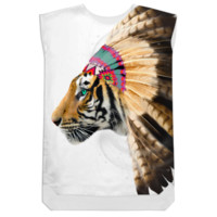 Fight For What You Love • Chief of Dreams: Tiger v.2 Shift Dress created by soaringanchordesigns | Print All Over Me
