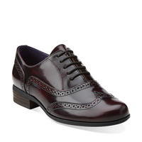 Hamble Oak in Burgandy Leather - Womens Shoes from Clarks