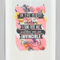 Matthew Kavan Brooks for Society6 Invincible Summer Print