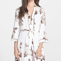 PJ Luxe 'Coco Rose' Jersey Robe