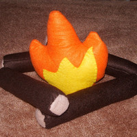 Felt Campfire Playset on Luulla