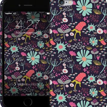 Whimsical Florals iPhone Cases & Skins by Emily Cromwell | Nuvango