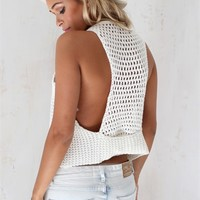 White Sands Racerback | SABO SKIRT