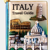 Nordstrom at Home 'Italy Travel Guide' Glass Ornament