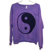 The Ying Yang Orchid Raglan (Select Size)
