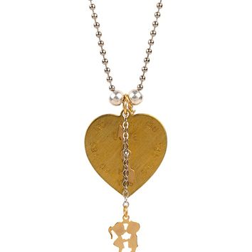 Bee Charming Jewelry Love Meter Necklace
