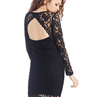 Keyhole Lace Bodycon Dress | Wet Seal