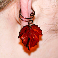 Autumn Light Ear Cuff