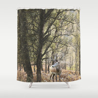 Glen Affic   Shower Curtain by anipani
