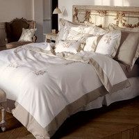 Yves Delorme Regence Embroidered Bed Linens | Pioneer Linens