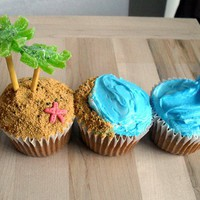 Beach Cupcakes | Cute Cupcakes | CutestFood.com