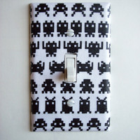 Retro Video Geek Single Toggle Switchplate Switch Plate