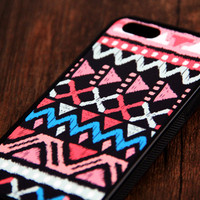 Native Amnerican iPhone 6 Plus iPhone 6 iPhone 5S iPhone 5C iPhone 5 iPhone 4S/4 Rubber Case