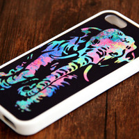 Abatract Elephant iPhone 6 Plus iPhone 6 iPhone 5S iPhone 5C iPhone 5 iPhone 4S/4 Rubber Case
