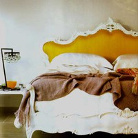 Design*Sponge headboard: GORGEOUS!
