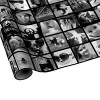 Create-Your-Own Photo Collage Gift Wrap