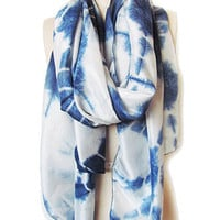 L.O.V Project - Diamond Tie Dye Silk Scarf 