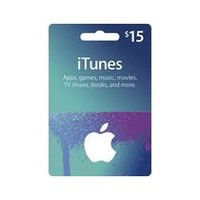 Apple® - $15 iTunes Gift Card