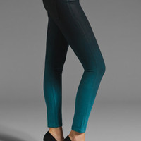 DL1961 Emma Legging in Bali Teal Ombre from REVOLVEclothing.com