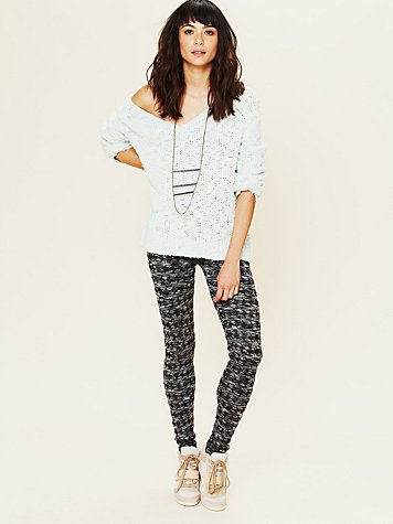 Free People Spacedye Houndstooth Legging
