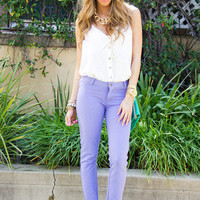 COTTON PURPLE CANDY SKINY- Pastry Skinny Collection