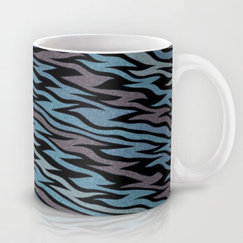 Ice Blue Mug by Alice Gosling