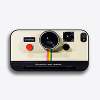 Vintage Polaroid Camera - iPhone 4 Case, iPhone 4s Case, iPhone 4 Hard Case, iPhone Case