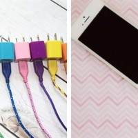 10 foot bungee charger kits for iPhone 4/4S & 5/5c/5s!