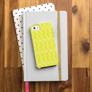 Allyson Johnson Neon Feathers Cell Phone Case