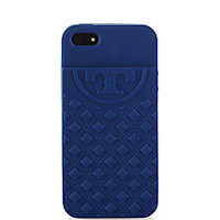 Tory Burch - Fleming Quilted Silicone iPhone 5/5s Case - Saks Fifth Avenue Mobile