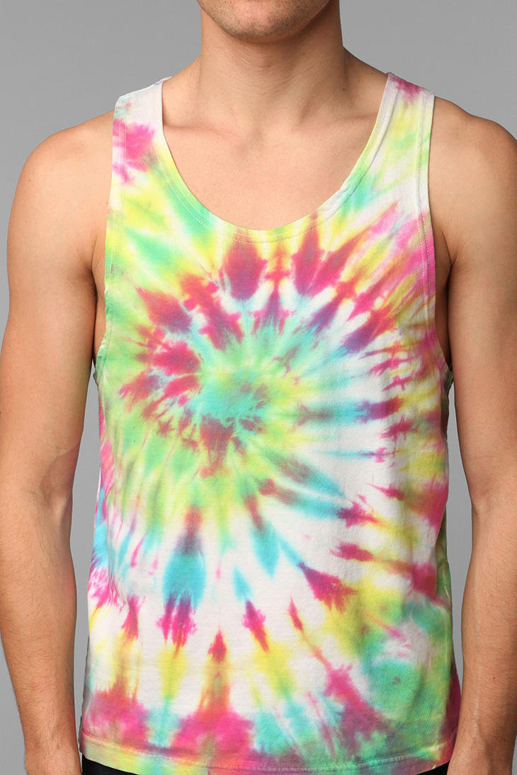 renewal tie dye tank top from outfitters tees