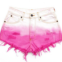 Dip-Dyed Hipster Shorts-MADE TO ORDER-Sizes 0-16