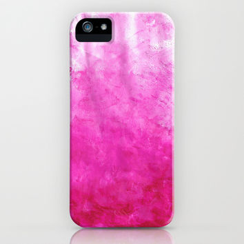 Pink Lava iPhone & iPod Case by TigaTiga Artworks