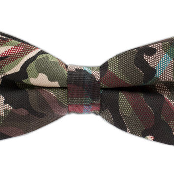 Textured Camo - Red (Cotton Bow Ties) | Ties, Bow Ties, and Pocket Squares | The Tie Bar