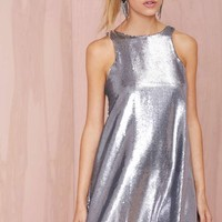 Glamorous Countdown Sequin Shift Dress