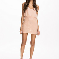 Cami Sequin Dress - Nly Trend - Light Pink - Party Dresses - Clothing - Women - Nelly.com
