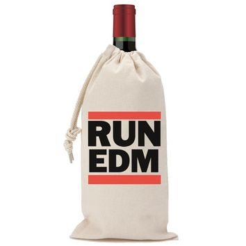 Run EDM Wine Bag