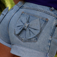 Cinderella - Bow shorts