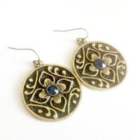 Arabesque Flower Earrings