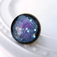 Galaxy Ring, Adjustable Ring, Space Ring, Stars Ring***SOLD OUT***