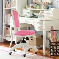 Lilac Desk &amp; Hutch | PBteen