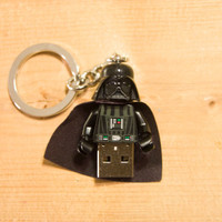 4GB Darth Vader USB Lego Minifigure Flash Drive with Key Chain