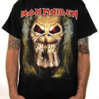 Iron Maiden, T-Shirt, Eddie Finger