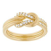 Swarovski Voile Ring - Gold