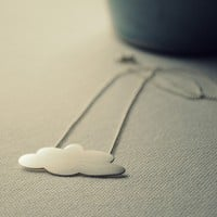 La Nube Necklace Sterling Silver  Made to order by TheAngryWeather