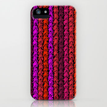 Moroccan Spice Twist iPhone & iPod Case by Alice Gosling