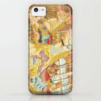 Fond Memories of Childhood : The Carousel Horse iPhone & iPod Case by lilkiddies | Society6