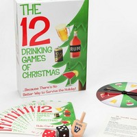 The 12 Drinking Games of Christmas by Kheper Games Inc. - ShopKitson.com
